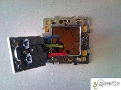 Prise commande par interrupteur schma de cblage branchement et norme lectr - Comment installer une prise de terre ...