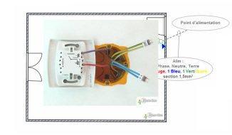 sch ma branchement interrupteur avec voyant lumineux sans neutre. Black Bedroom Furniture Sets. Home Design Ideas