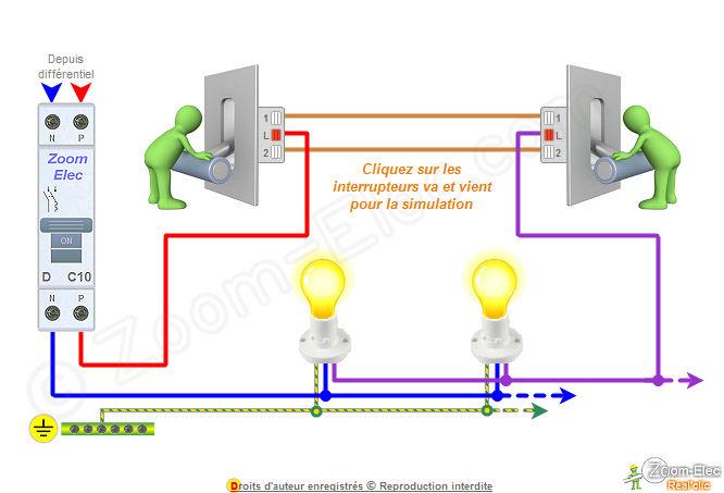 Branchement dun interrupteur va et vient kabar bola terbaru vroh - Branchement va et vient 3 interrupteurs ...